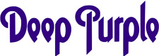 DEEP PURPLE LOGO VINYL DECAL Door Car Window Bedroom Wall Sticker