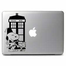 """Dactor Who Snoopy Vinyl Decal Sticker for Apple Macbook Air Pro 11 12 13 15 17"""""""