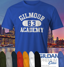 Gilmour Academy T-shirt as worn Dave Pink Floyd classic rock band Music Tee top