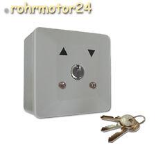 Schlüsselschalter Rolltor Garagentor Schlüsseltaster Motor Aufputz