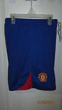 Small Medium Manchester Soccer Futbol FC Football United Casual Athletic Shorts