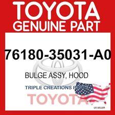 GENUINE Toyota 76180-35031-A0 BULGE, HOOD 7618035031A0 OEM
