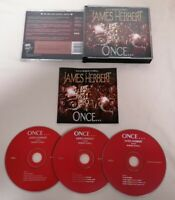 AUDIO BOOK CD - Once By James Herbert Read By Robert Powell X3 CDs Audio Book