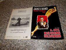 ALBUM JAMES BOND AGENTE SEGRETO 007 GOLDFINGER MOVICOLOR 1965 ORIG.CPL(-4)OTTIMO