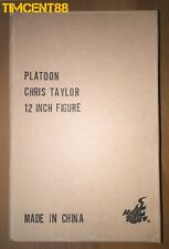 Ready! Hot Toys MMS 135 Platoon 1/6 Chris Taylor Charlie Sheen Figure Box Sealed