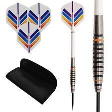 23g 27g Tungsten darts set 'TIGERS' Standard shape dart flights, stems & case