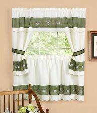 berkshire cottage set kitchen curtain window Curtain,floral Green