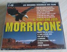 BOX 2 CD IL ETAIT UNE FOIS ENNIO MORRICONE 42 TITRES 1992 MUSIQUES DES FILMS