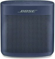 BOSE SOUNDLINK COLOR II 2 PORTABLE SPEAKER MIDNIGHT BLUE BLUETOOTH 1-YR WARRANTY