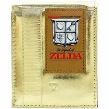 Cartera de Legend of Zelda Cartucho retro NES Oro