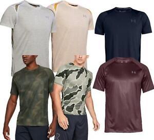 Under Armour Mens Sports T Shirt Tech 2.0 Gym Tee Fitness Lightweight Top