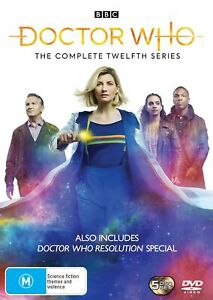 Doctor Who The Complete Twelfth Series 1 Season One2 Box Set DVD Region 4 NEW