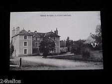CPA Château de CASSO 44160 Pontchâteau Loire Atlantique État Neuve Old Postcard