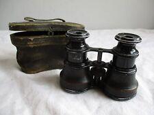 Antiguo Vintage Binoculares-Dollond opera o binoculares y Estuche