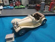 New ListingFranklin Mint 1938 Jaguar Ss-100 Model 1:24 Die Cast Very Nice Car