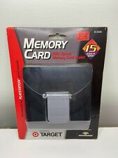 PlayStation 1 Memory Card With Memory Card Wallet
