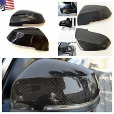 For 14-16 BMW F32 F33 Coupe F36 Glossy Carbon Fiber Side Mirror Cover Caps Set