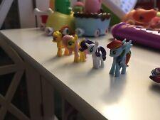 Finders Keepers My Little Pony Rarity Applejack Rainbow Dash Figurine Toy