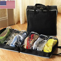 Travel Bags Shoes Storage Bag Pouch Dustproof Portable Carrier Waterproof Bags