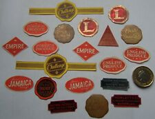 20 VERY RARE  TINY UNUSED 1920`S   LETTER SEAL TYPE  LABELS