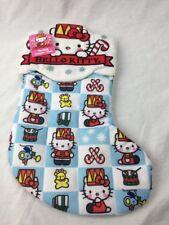 "NEW Hello Kitty Christmas Stocking 14"" Plush Soft"