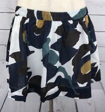 Abercrombie and Fitch Women's Earth Floral Skater Lined Skirt Size Large