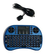 Rii 8+ Bluetooth Mini Wireless Bluetooth Backlight Keyboard Touchpad w/Mouse
