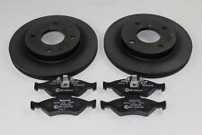 Original Brake Discs + Brake Pads Ford KA 2/2000 - 9/2008 1524589 +1947389