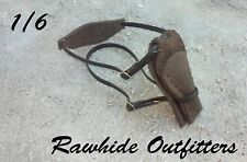 1/6 Genuine Leather Brown Underarm Holster with Harness Fully Adjustable