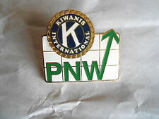 Kiwanis International Club PNW Enamel Lapel Pin