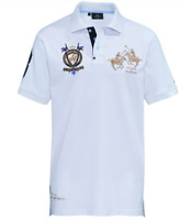 HV Society Heckman Polo Shirt White XXL TD098 SS 04
