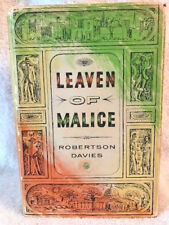 ROBERTSON DAVIES LEAVEN OF MALICE 1ST CANADIAN vg in DJ
