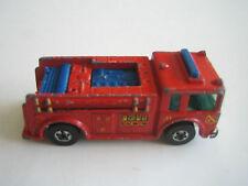 Vintage Hot Wheels Fire Eater, Red, Blackwalls