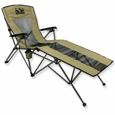 Wolftraders LayZWolf High-Back Reclining Lounger Camp Chair