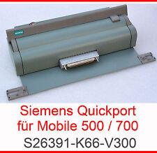 DOCKING STATION PORT REPLICATOR SIEMENS MOBILE 501 510 710 750 AGP 800