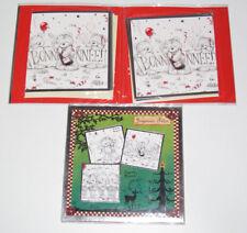 Coffret de Voeux 8 Jolies Cartes Assorties + Enveloppes Joyeuses Fêtes NEUF