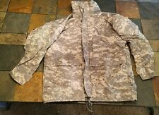 US Military Parka Cold Weather Universal Camouflage Large Regular Tennier - Army