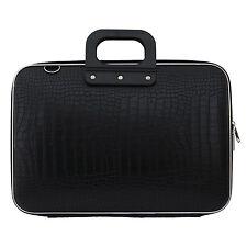 "Bombata - Black Cocco 15"" Laptop Case/Bag with Shoulder Strap"