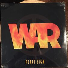 """WAR - PEACE SIGN 12"""" Vinyl Record 1994 Avenue Records SEALED Soul"""