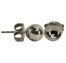 Vanguard EARRINGS - BRITE WHITE GOLD FILLED BALL