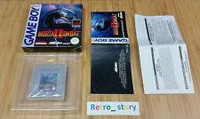 Nintendo Game Boy Mortal Kombat II PAL