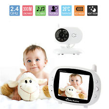 "3.5"" Wireless HD Video Baby Monitor 2.4GHz Night Vision Security Camera Viewer"