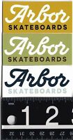 ARBOR COLLECTIVE STICKER Arbor Skateboards 2.75 in x 1.25 in Decal