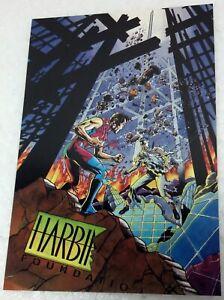 1993 Harbinger #25 Valiant Postcard #1 Maurice Fontenot, Simpson, Mayo, Became