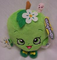 "Shopkins GREEN APPLE BLOSSOM 7"" Pillow Plush STUFFED ANIMAL Toy NEW"