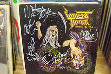 VALIENT THORR IMMORTALIZER LP Color  VINYL Autographed By the Band