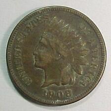 1908s Indian Penny - Nice Original Coin