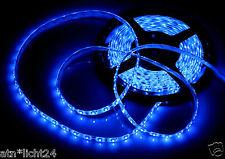 120cm con 60x LED SMD barra strip barra de luz 24v camión trucks azul autoadhesivo