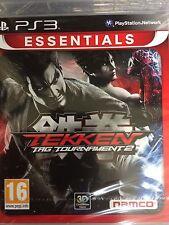 Tekken Tag Tournament 2 (PS3) UK PAL NEW SEALED Lang:GB-DE-FR-IT-ES