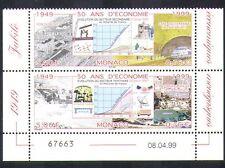 MONACO 1999 ECONOMIA/Treni/Stazione Ferroviaria// BUILDING/Grafico/Grafico/trasporto PR n38396